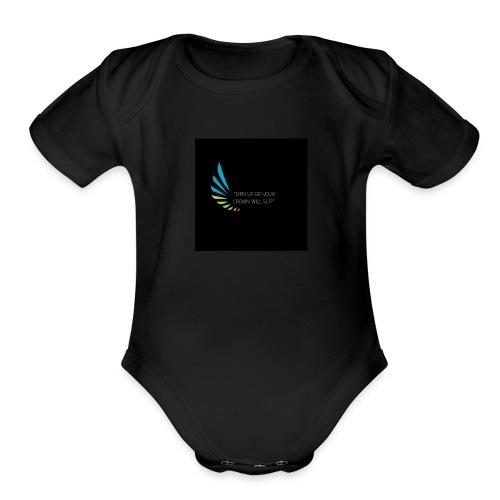 Regina Daggers 1 - Organic Short Sleeve Baby Bodysuit