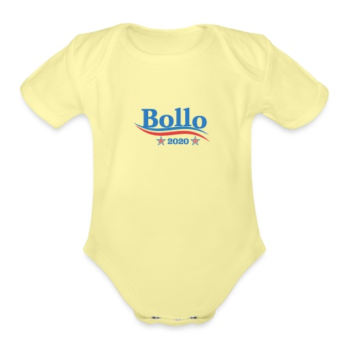 Bollo 2020 - Organic Short Sleeve Baby Bodysuit