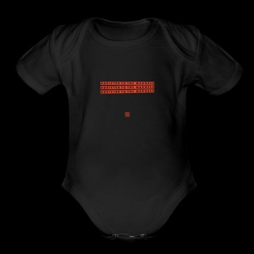 Silva Hound Addict 1 - Organic Short Sleeve Baby Bodysuit