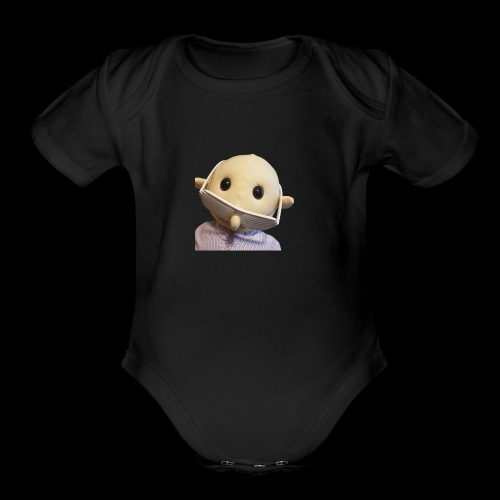 Mr Nobody! - Organic Short Sleeve Baby Bodysuit