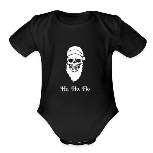 Ho Ho Ho! - Organic Short Sleeve Baby Bodysuit