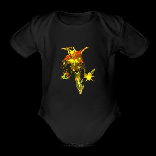 Scargill of Death and Destruction.... - Organic Short Sleeve Baby Bodysuit