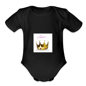 Queen shirt - Short Sleeve Baby Bodysuit
