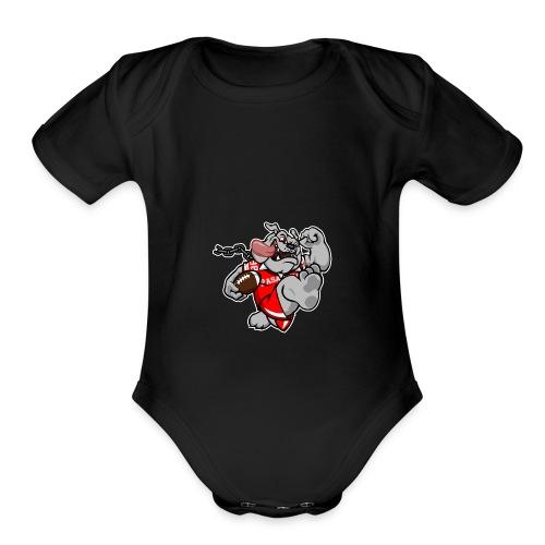 CS - Organic Short Sleeve Baby Bodysuit
