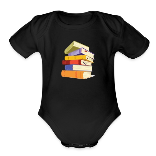 In trading you have to study or perish - Organic Short Sleeve Baby Bodysuit