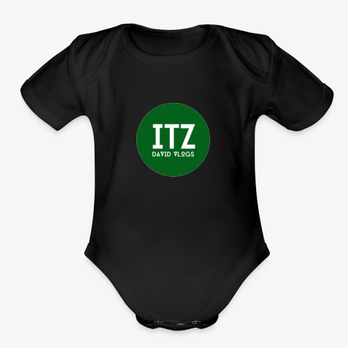ITZ DAVID VLOGS - Organic Short Sleeve Baby Bodysuit
