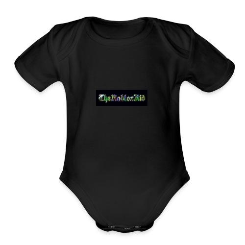 THEROBLOXKID - Organic Short Sleeve Baby Bodysuit