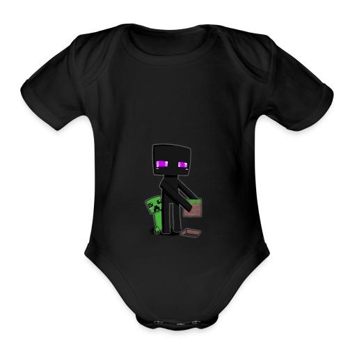 crafter - Organic Short Sleeve Baby Bodysuit
