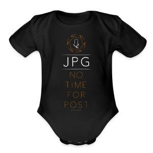 For the JPG Shooter - Short Sleeve Baby Bodysuit