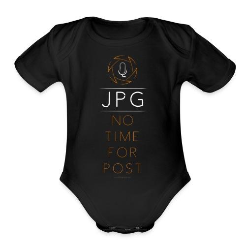 For the JPG Shooter - Organic Short Sleeve Baby Bodysuit