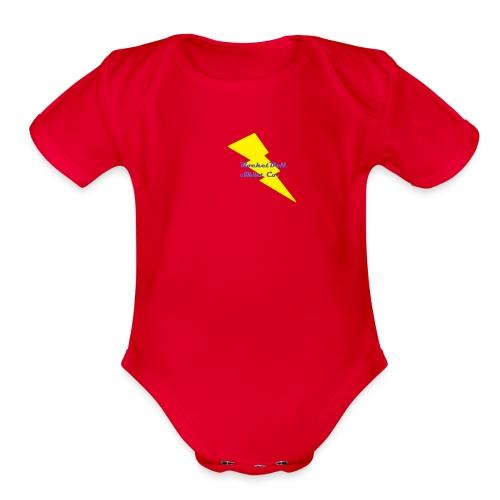RocketBull Shirt Co. - Organic Short Sleeve Baby Bodysuit