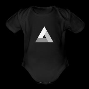 The Power of Three (Tri) - Short Sleeve Baby Bodysuit
