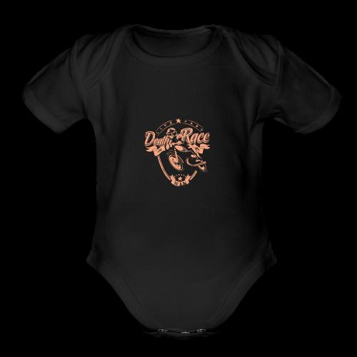 Race - Organic Short Sleeve Baby Bodysuit