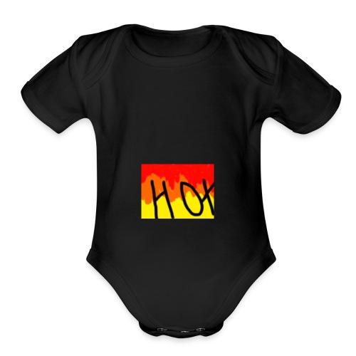 Bill Noel 8 - Organic Short Sleeve Baby Bodysuit