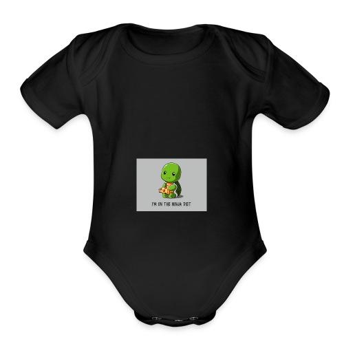 Ninja Diet - Organic Short Sleeve Baby Bodysuit