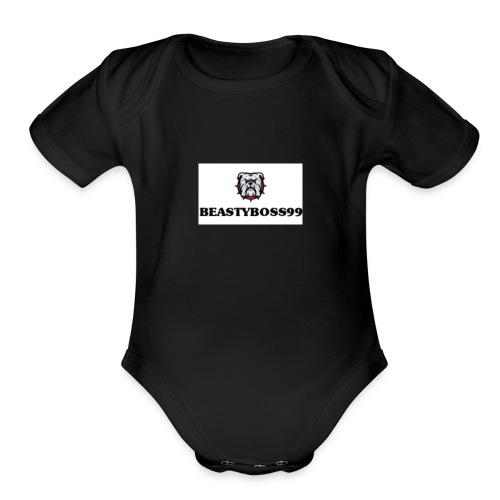 Hound - Organic Short Sleeve Baby Bodysuit