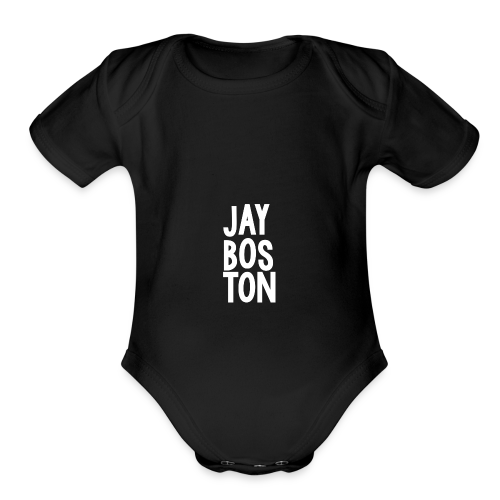 Jay Boston - Official Brand - Organic Short Sleeve Baby Bodysuit