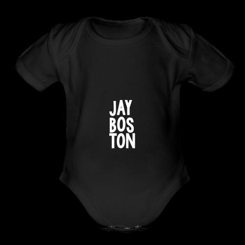 Jay Boston - Official Brand - Organic Short Sleeve Baby Bodysuit