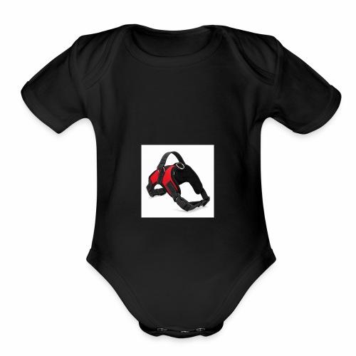 HANTAJANSS New Large Dog Harness Vest 3 Colors Pro - Organic Short Sleeve Baby Bodysuit