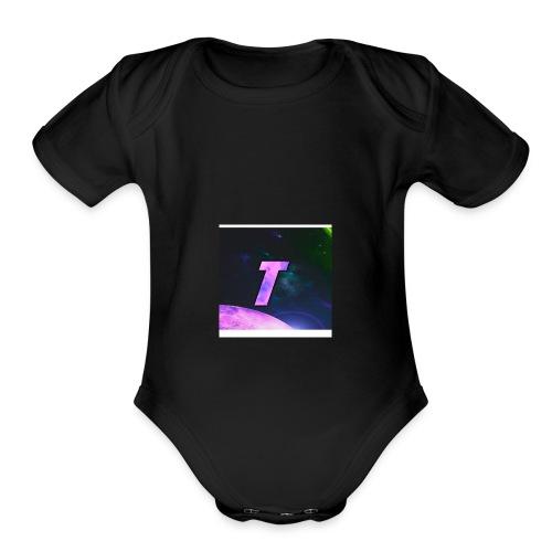 TICKLE - Organic Short Sleeve Baby Bodysuit