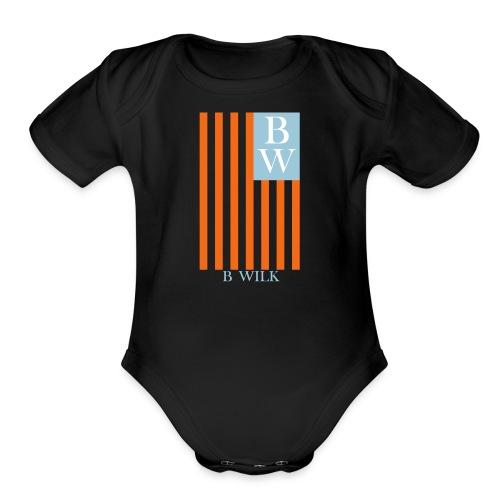 USA BWILK - Organic Short Sleeve Baby Bodysuit