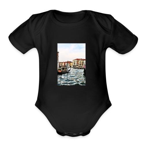 454B3B17 EADE 4EEC 878F DE93D60C11F3 - Organic Short Sleeve Baby Bodysuit