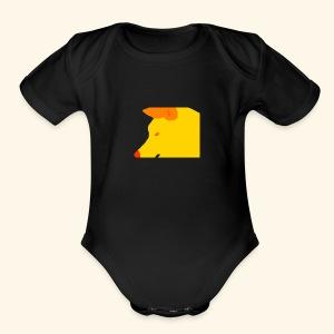 wOLF Attack - Short Sleeve Baby Bodysuit