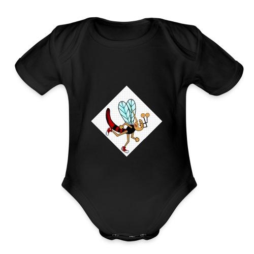 babyshirt - Organic Short Sleeve Baby Bodysuit