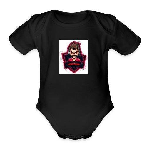 Lester - Organic Short Sleeve Baby Bodysuit