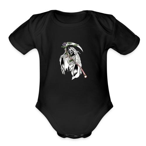 Mist Reaper - Organic Short Sleeve Baby Bodysuit