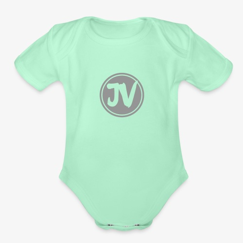 My logo for channel - Organic Short Sleeve Baby Bodysuit