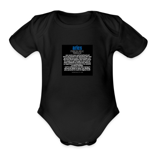 Aries - Organic Short Sleeve Baby Bodysuit