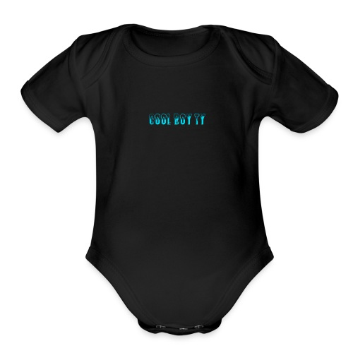 coollogo com 21848922 - Organic Short Sleeve Baby Bodysuit