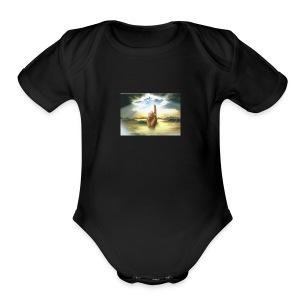 le_paradie - Short Sleeve Baby Bodysuit