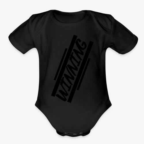 WINNING - Organic Short Sleeve Baby Bodysuit