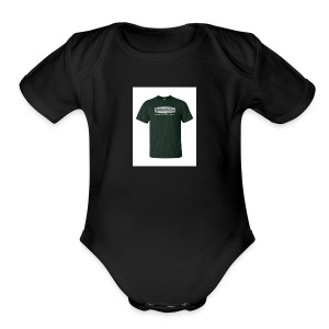 Black T Shirt - Short Sleeve Baby Bodysuit