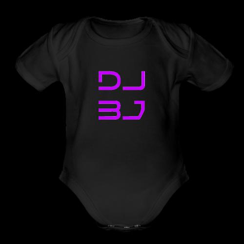 DJ BJ - Organic Short Sleeve Baby Bodysuit