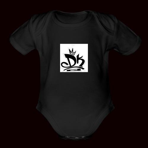 D&K Empire - Organic Short Sleeve Baby Bodysuit