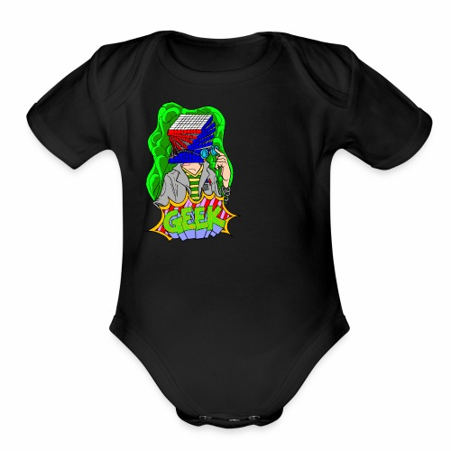 Geek Culture Soader - Organic Short Sleeve Baby Bodysuit