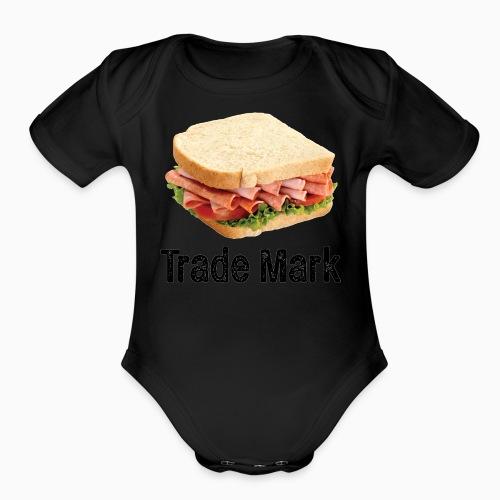 Sandwich - Organic Short Sleeve Baby Bodysuit
