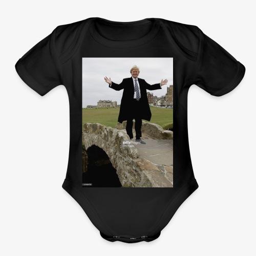 57484776 - Organic Short Sleeve Baby Bodysuit