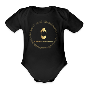 Punting For The People Print - Short Sleeve Baby Bodysuit