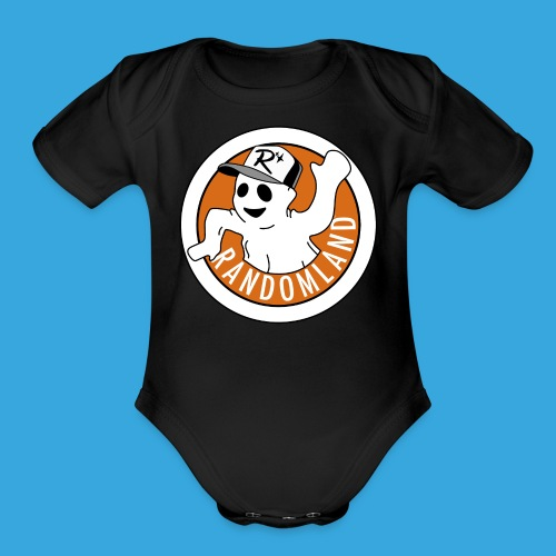 Spoopie The Ghost - Organic Short Sleeve Baby Bodysuit
