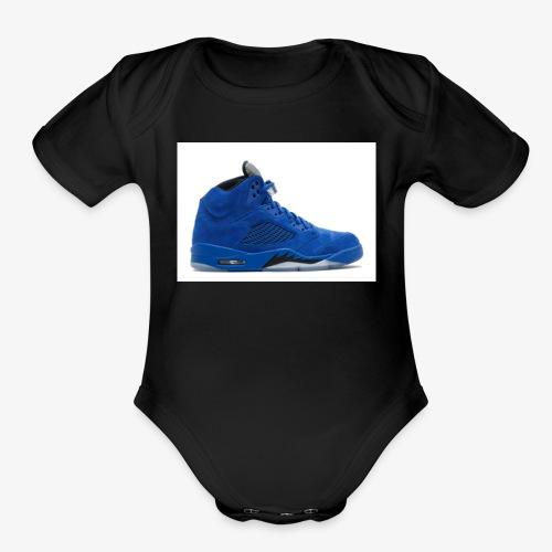 When u a hypebeast - Organic Short Sleeve Baby Bodysuit