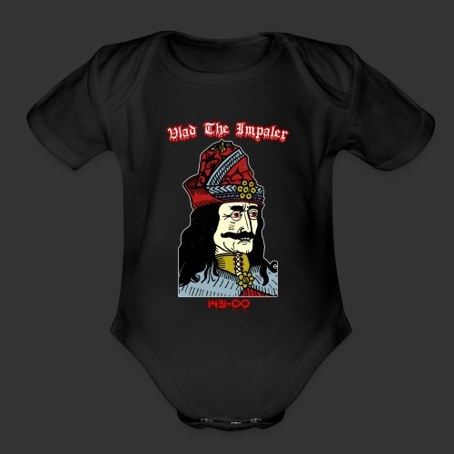Vlad The Impaler Forever - Organic Short Sleeve Baby Bodysuit