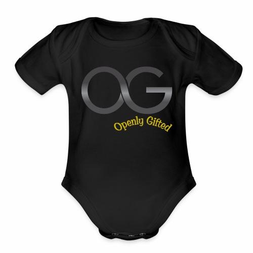 OG Openly Gifted! - Organic Short Sleeve Baby Bodysuit