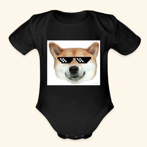 DOG THUG - Organic Short Sleeve Baby Bodysuit