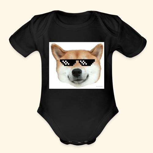 DOG THUG - Organic Short Sleeve Baby Bodysuit