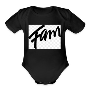 Fam - Short Sleeve Baby Bodysuit