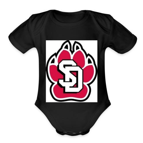 SD MERCH - Organic Short Sleeve Baby Bodysuit